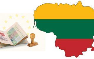 оформлення робочої візи в Литву